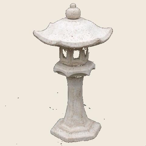 Japonská lampa rovná