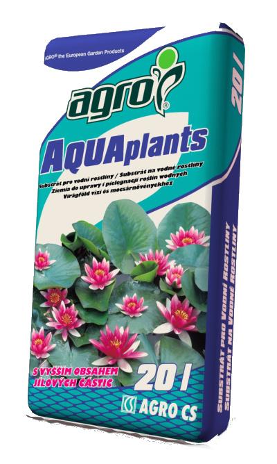 Substrát na vodní rostliny 20 l agro